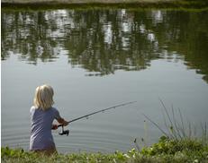 vissend kind